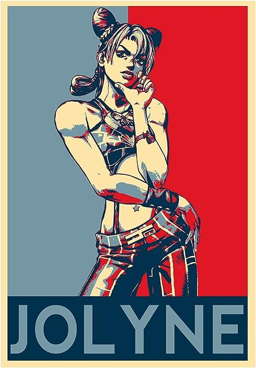 """JoJo/'s Bizarre Adventure poster wall art home decor photo print 24x24/"""" inches"""