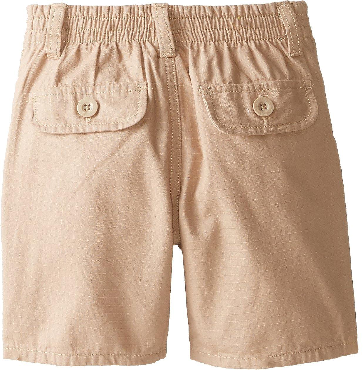 Boys Short Sleeve Woven Shirt with Ripstop Short US Polo Assn U.S Boys 4-7 HB00/_1 Polo Assn
