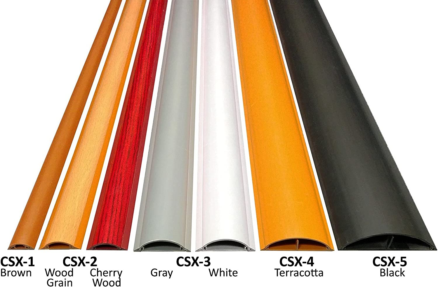 Color: Gray Model: CSX-2 Length: 36 Cable Shield Cord Cover