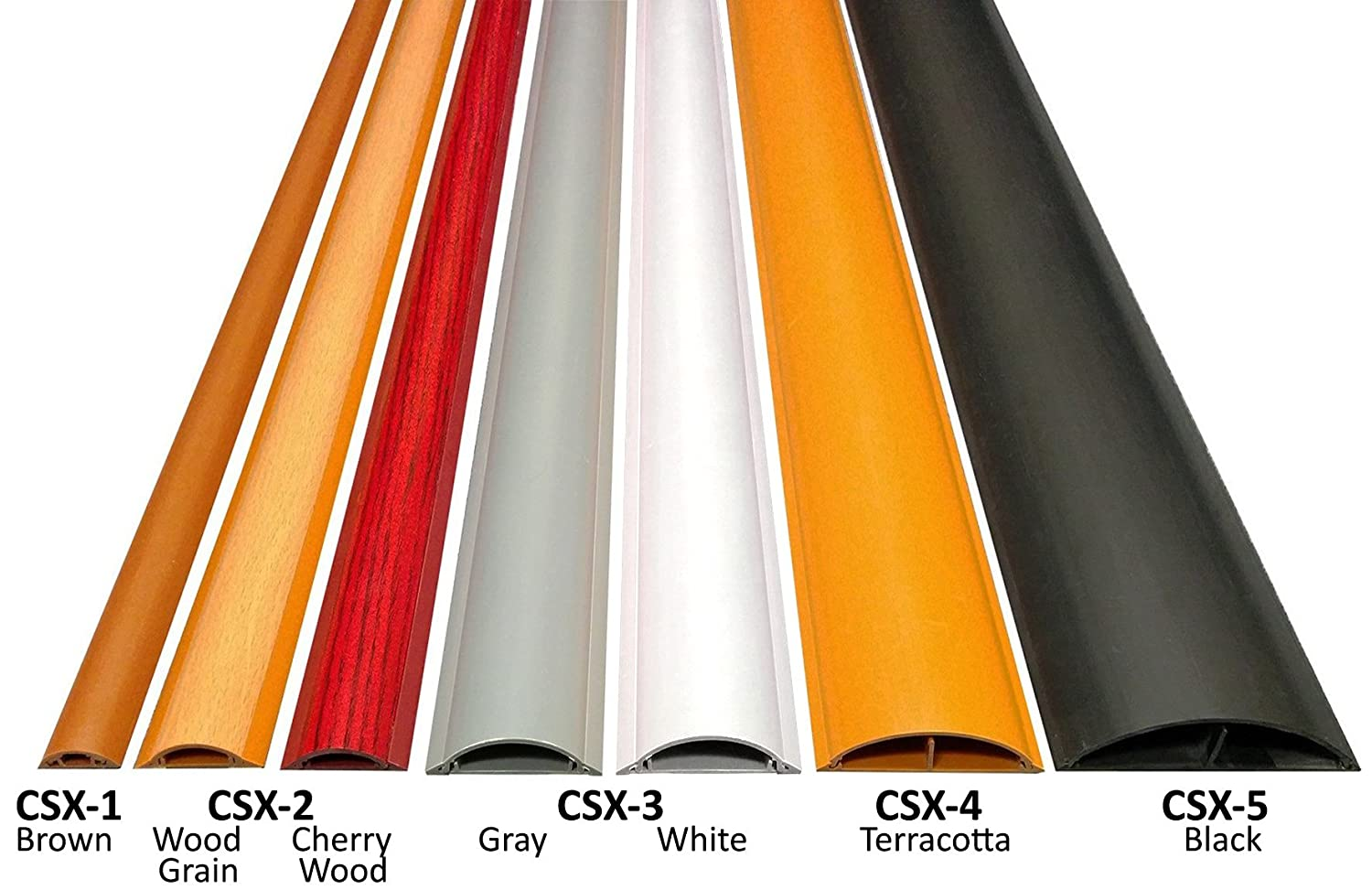 Cable Shield Cord Cover - Model: CSX-2 - Length: 59\