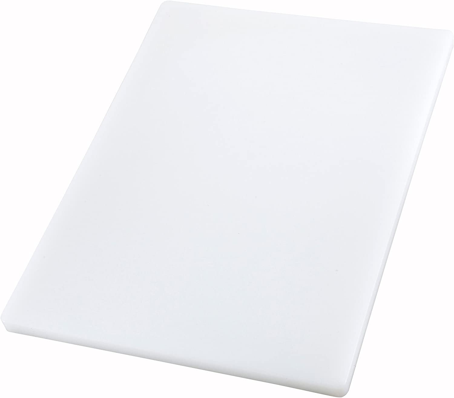 Winco Cutting Board, 15 by 20 by 1-Inch, White