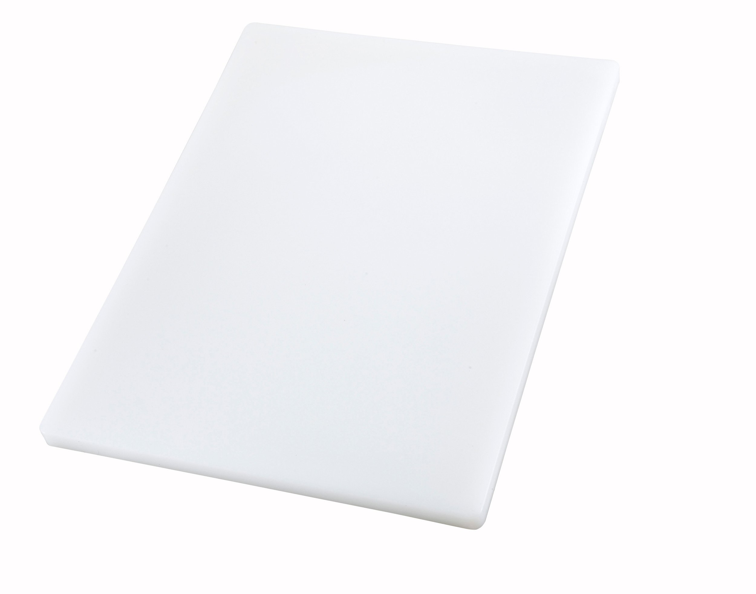 Winco Cutting Board, 12 by 18 by 1-Inch, White