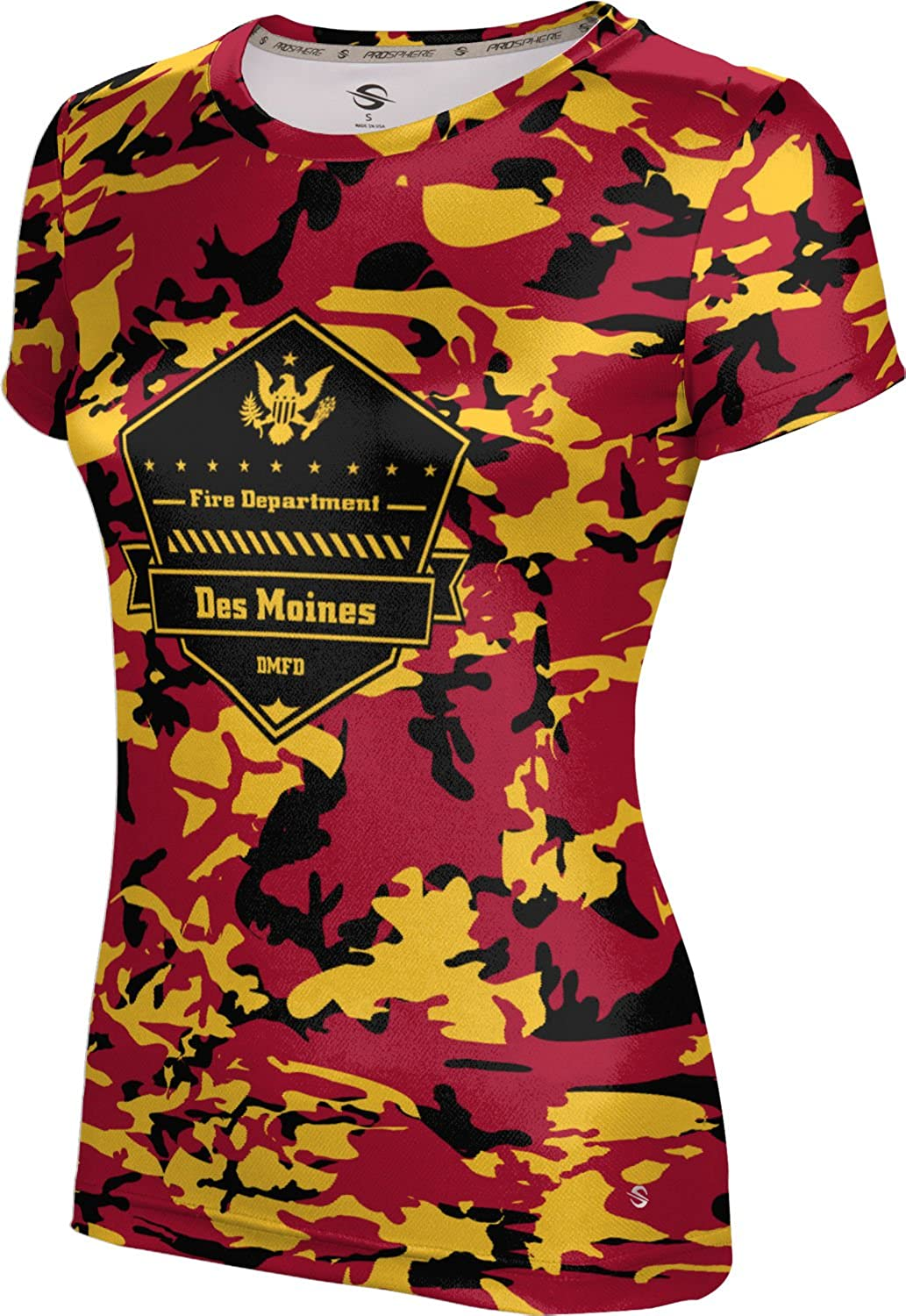 ProSphere Women's Des Moines Fire Department Camo Tech Tee