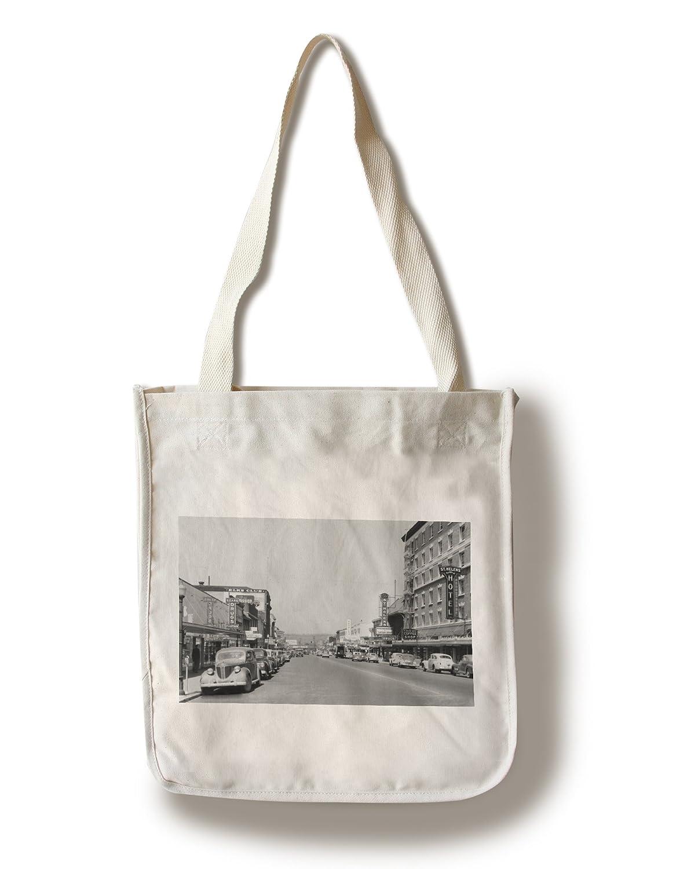ダウンタウンのビューChehalis、ワシントン写真 Canvas Tote Bag LANT-2777-TT B0182QT9A0  Canvas Tote Bag