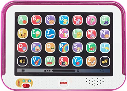 Amazon Fisher Price Laugh Learn Smart Stages Tablet Pink