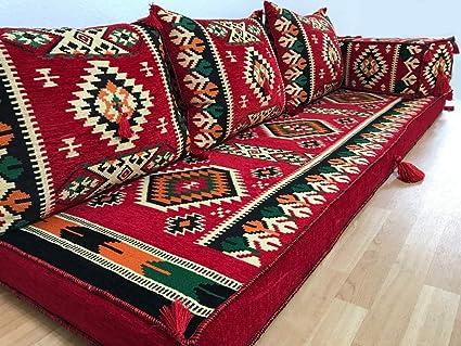 Cuscini Arabi.Orientale Angolo Kilim Cuscino Cuscino Da Pavimento Originale