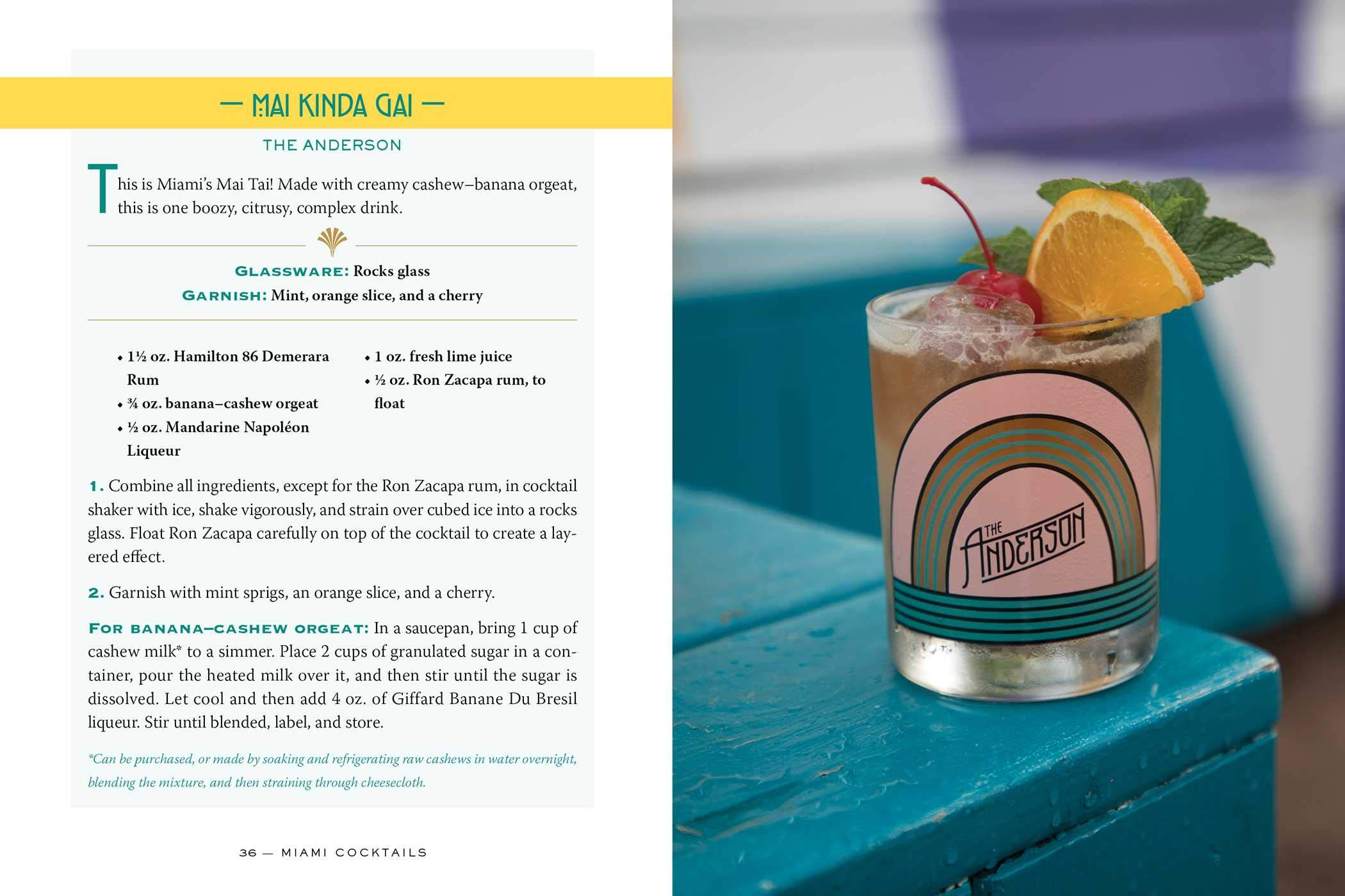 Miami Cocktails: An Elegant Collection of over 100 Recipes ...
