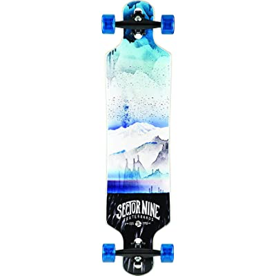 Sector 9 Meridian Blue 2016 Complete Drop Through Longboard Skateboard New : Sports & Outdoors