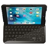 Logi Focus Tastatur-Hülle für iPad Mini 4 schwarz (QWERTZ, deutsches Tastaturlayout)