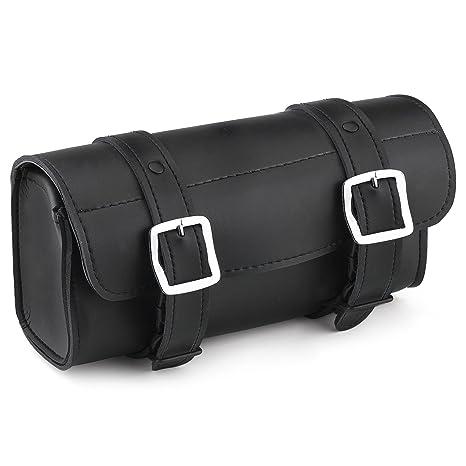 Motorcycle Tool Bag >> Viking Bags Armor Leather Motorcycle Tool Bag Plain