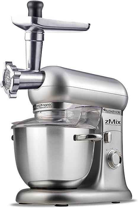 1800 Watt TurboTronic Retro robot de cocina multifunción zmixplus 2,44 HP (accesorios para carne y