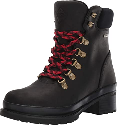 Muck Boots Liberty Alpine Women/'s Ankle Boots Waterproof Leather Lace Up Shoes