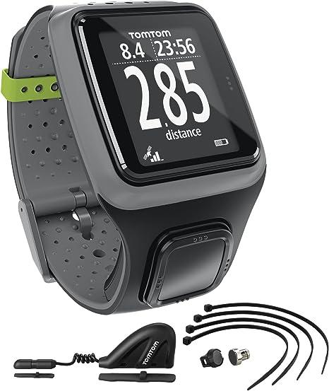 TomTom Multi-Sport - Reloj deportivo GPS (para atletismo, ciclismo ...