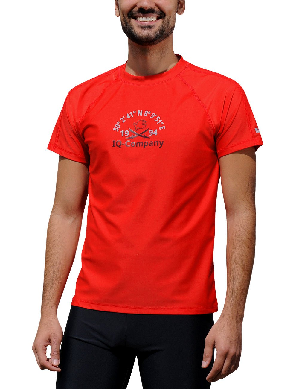 iQ-Company Men UV Protection T-Shirt IQ 300 Water Sports 94