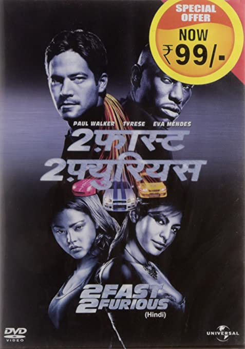Amazonin Buy 2 Fast Furious Hindi DVD Blu Ray Online At Best Prices In India
