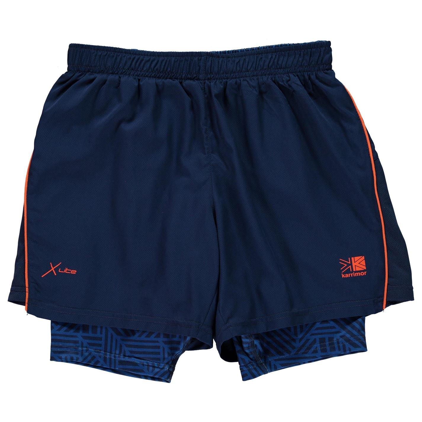 Karrimor Boys Infants X 2 Shorts Night Blue UK 13 (XLB)