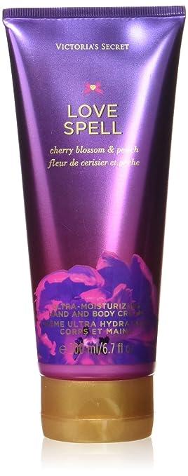 dfa66cbf4fb25 Victoria's Secret Love Spell Hand and Body Cream, 6.7 Ounce