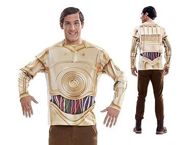 Disfraz Camiseta de Star Wars C3po Original de Carnaval para ...