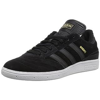 adidas Originals Men's Busenitz Skate Shoe, Black/Black/White, 9 M US