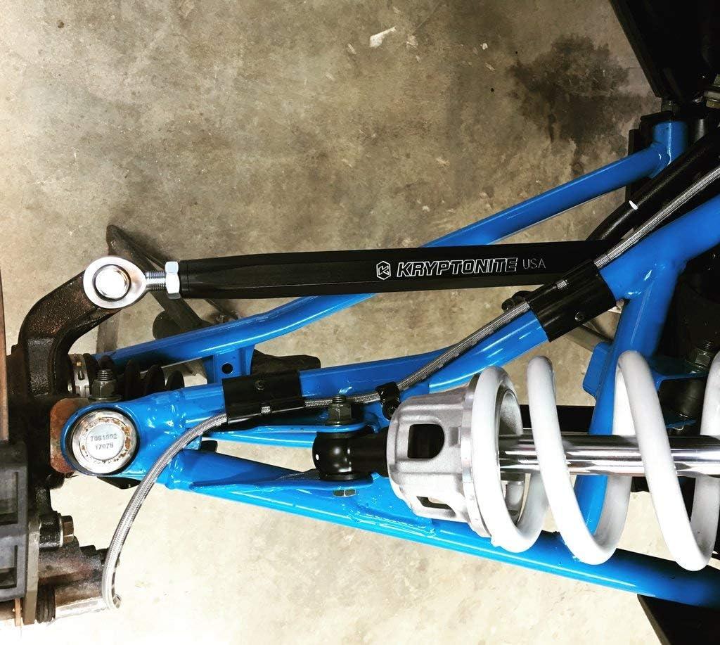 Kryptonite Stage 2 Death Grip Tie Rods KRTRZ19T Compatible with 2017-2019 Polaris RZR XP Turbo