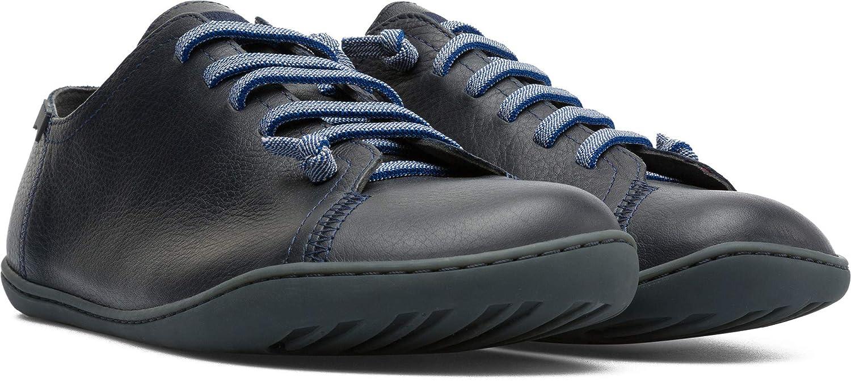 Camper Peu Cami, Hauszapatos para Hombre azul (Dark azul 400)