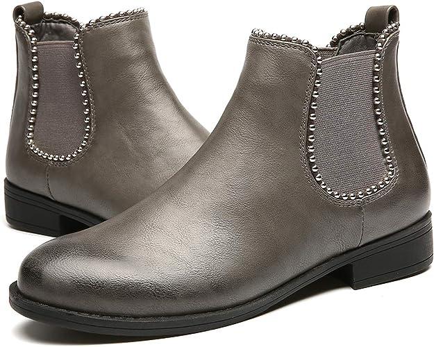 gracosy Women Chelsea Boots, Ladies
