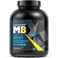 MuscleBlaze 70% 2kg Whey Performance Protein (Chocolate)