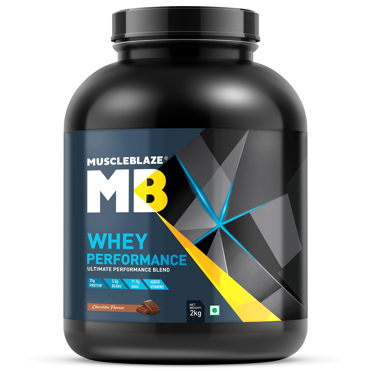 MuscleBlaze WheyPerformance 2 kgChocolate