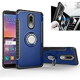GarHold Funda Huawei Mate 10 Lite Case,Silicona antichoque TPU+PC Cover,360° Patada giratoria Imanes de Coche,Protección Doble Funda para Huawei Mate 10 Lite (Azul)