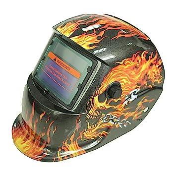 ZHIFENGLIU Máscara De Soldadura De Luz Solar Automática/Máscara De Soldadura De Arco De Argón