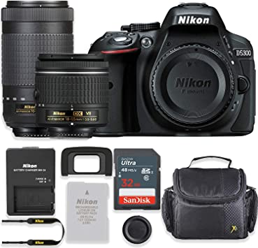 Amazon.com: Nikon D5300 - Cámara réflex digital de 24,2 MP ...