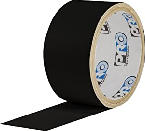 """ProTapes Pro Flex Flexible Butyl All Weather Patch and Shield Repair Tape, 50' Length x 9"""" Width, Black (Pack of 1)"""