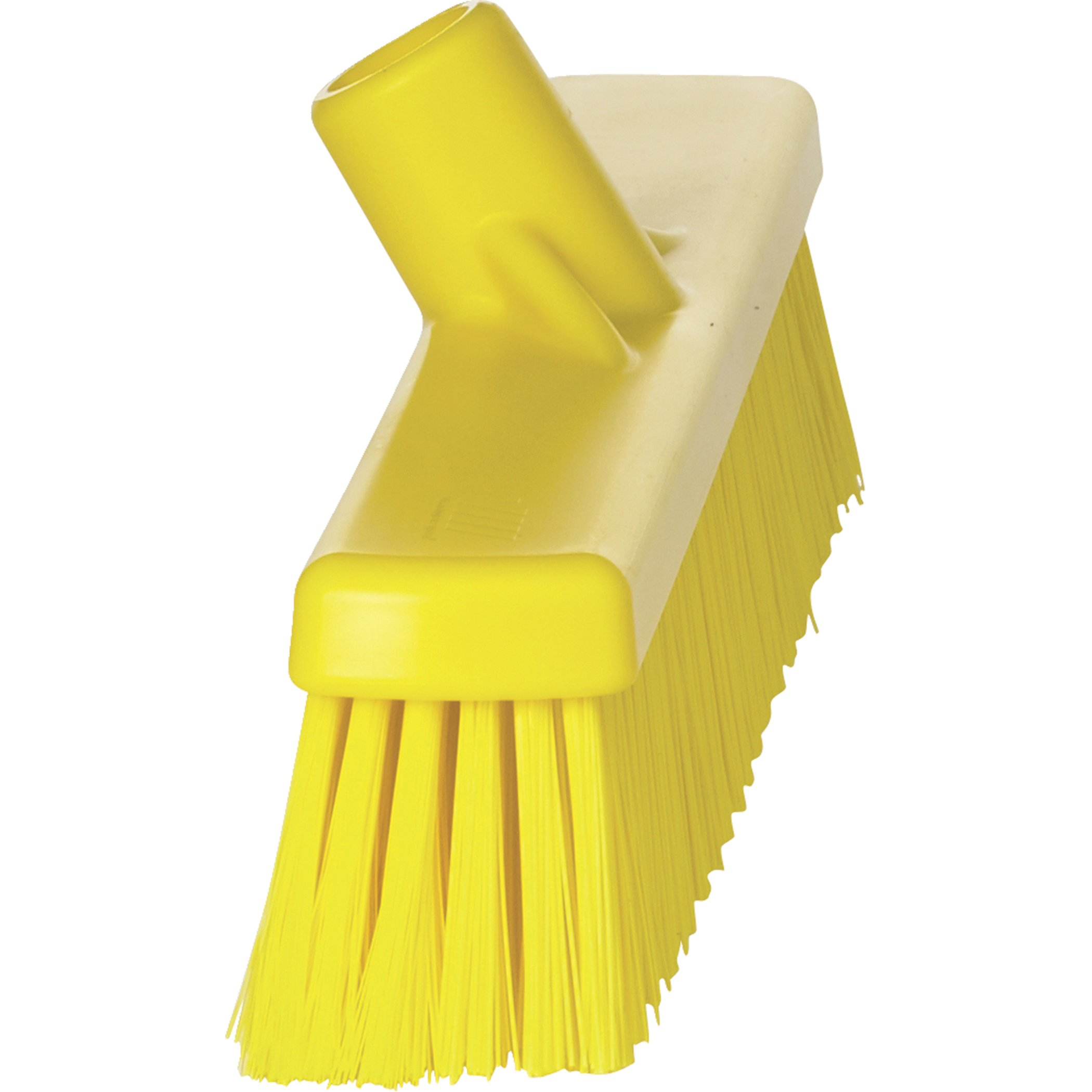 VIKAN Yellow Polyester Fine Sweeping Combo Floor Broom by Vikan