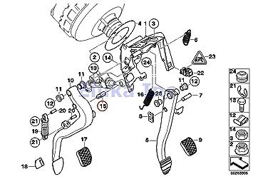 amazon com bmw genuine clutch master cylinder pin master cylinder rh amazon com CJ5 Clutch Diagram Clutch Assembly Diagram