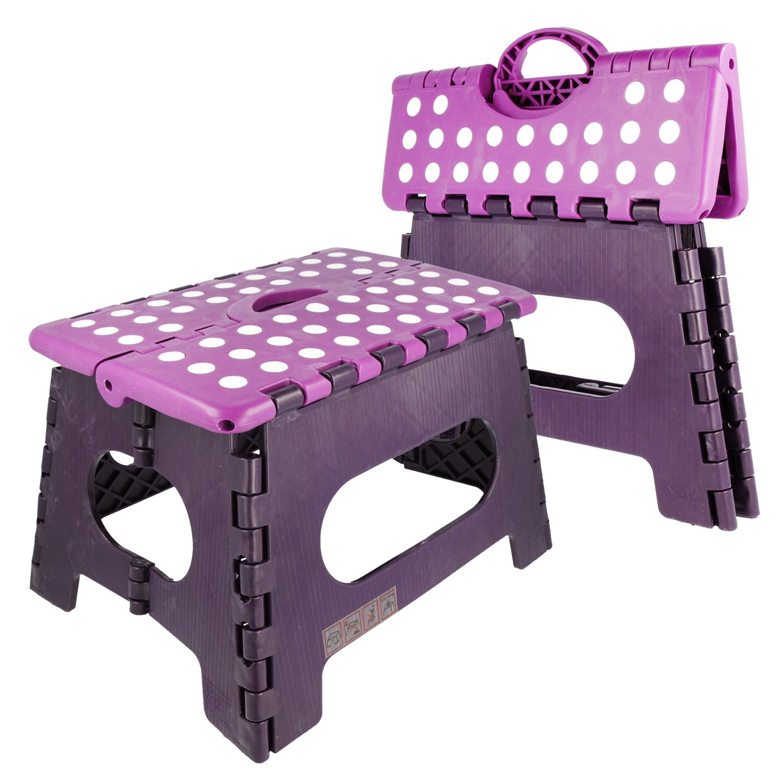 klapphocker trittstufe hocker faltbar tritthocker klapptritt tritt bis 150 kg ebay. Black Bedroom Furniture Sets. Home Design Ideas