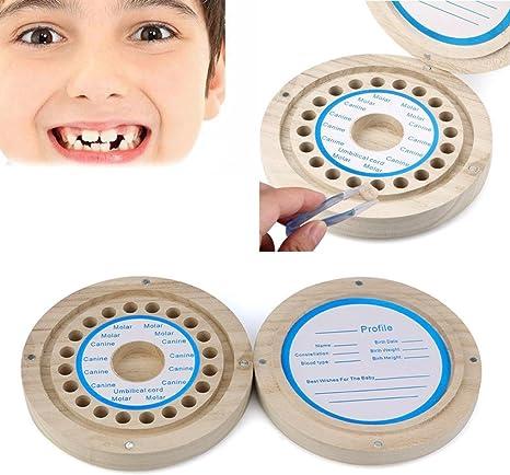 Winkey - Caja organizadora para guardar dientes de leche para bebé, colección Baby Lanugo, caja de recuerdo A 12x12cm: Amazon.es: Bebé