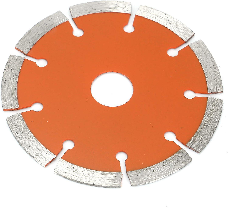 Coldshine 6pcs 4.5 Diamond Cutting Discs Angle Grinder Blade Stone Brick Concrete Tile