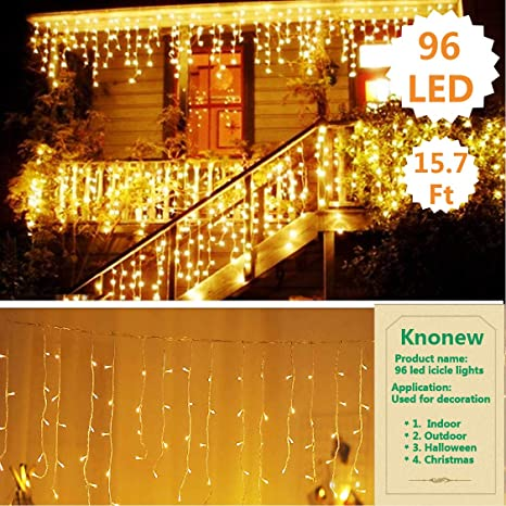 8 Lighting Modes LED Copper Wire String Light Christmas Xmas Party Home Decor UK