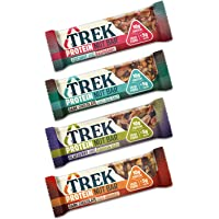 Trek Protein Nut Bars (Mixed Case Selection, Pack