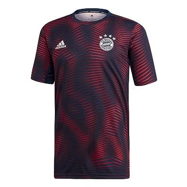 1b3361b5e4ccdd adidas Herren FC Bayern München Pre-Match Shirt 18 19  Amazon.de  Bekleidung