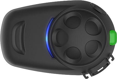 Smh5 Multicom Smh5 Fm Bluetooth Kommunikationssystem Mit Integriertem Fm Tuner Für Motorräder Und Roller Mit Schnellmontage Helmklemmeinheit Auto