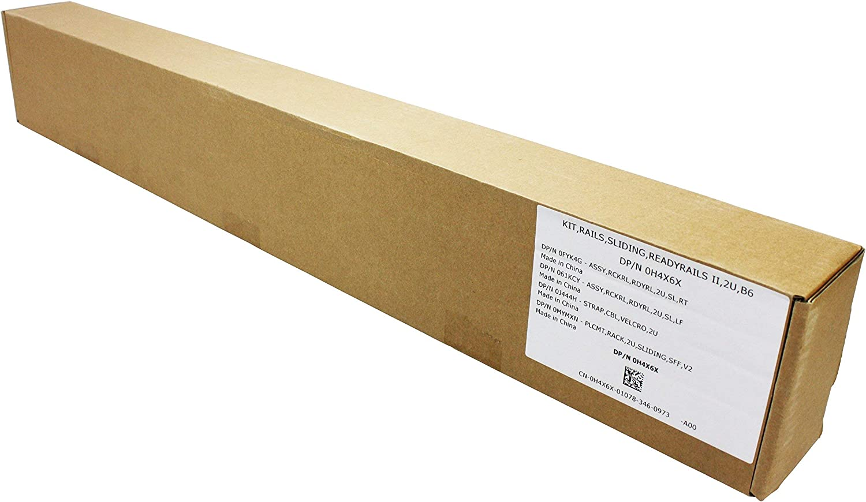 DELL H4X6X 2U SLIDING READY RAIL KIT FOR PE R520 R720 R820 770-BBIN - NEW BOXED (Renewed)