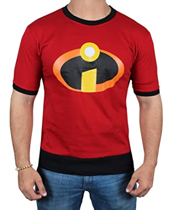 a4626a2ab The Incredibles 2 Symbol Logo T-Shirt - Adult Costume Red T Shirt for Men
