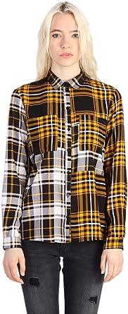 KAPORAL Paco - Camisa de cuadros para mujer Colza XS: Amazon ...