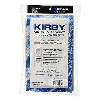 Ultimate G/G6 Kirby aspiradora bolsas de recambio (9 unidades): Amazon.es: Industria, empresas y ciencia