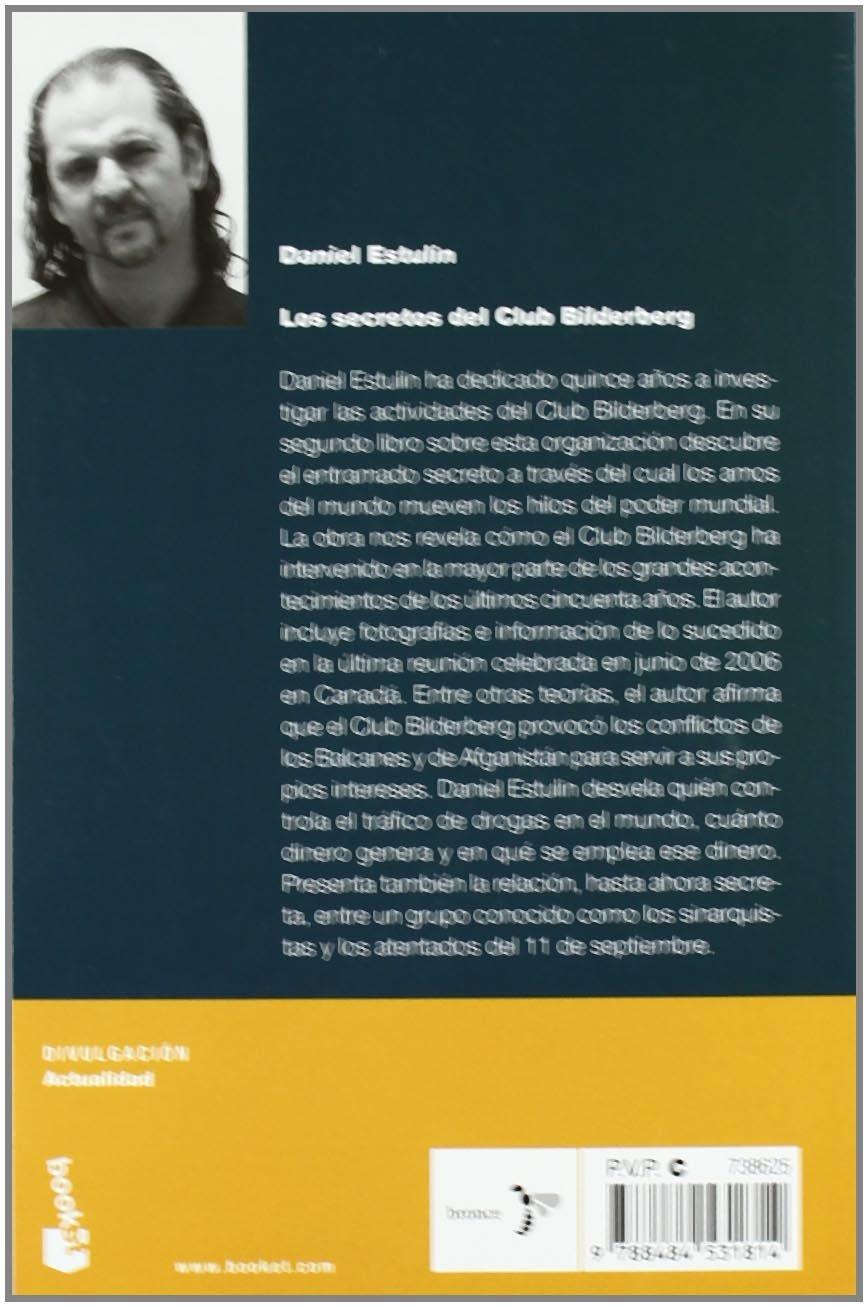 Los secretos del Club Bilderberg (Divulgación): Amazon.es: Estulin, Daniel: Libros
