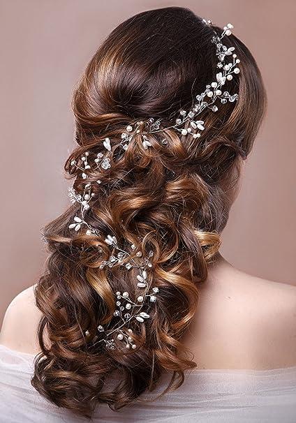 Aukmla - Accessori gioielli per capelli f108bd341b48