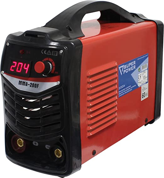 Super Power 73210 Equipo Soldadura Inverter, 200A, 28V, 6.7K