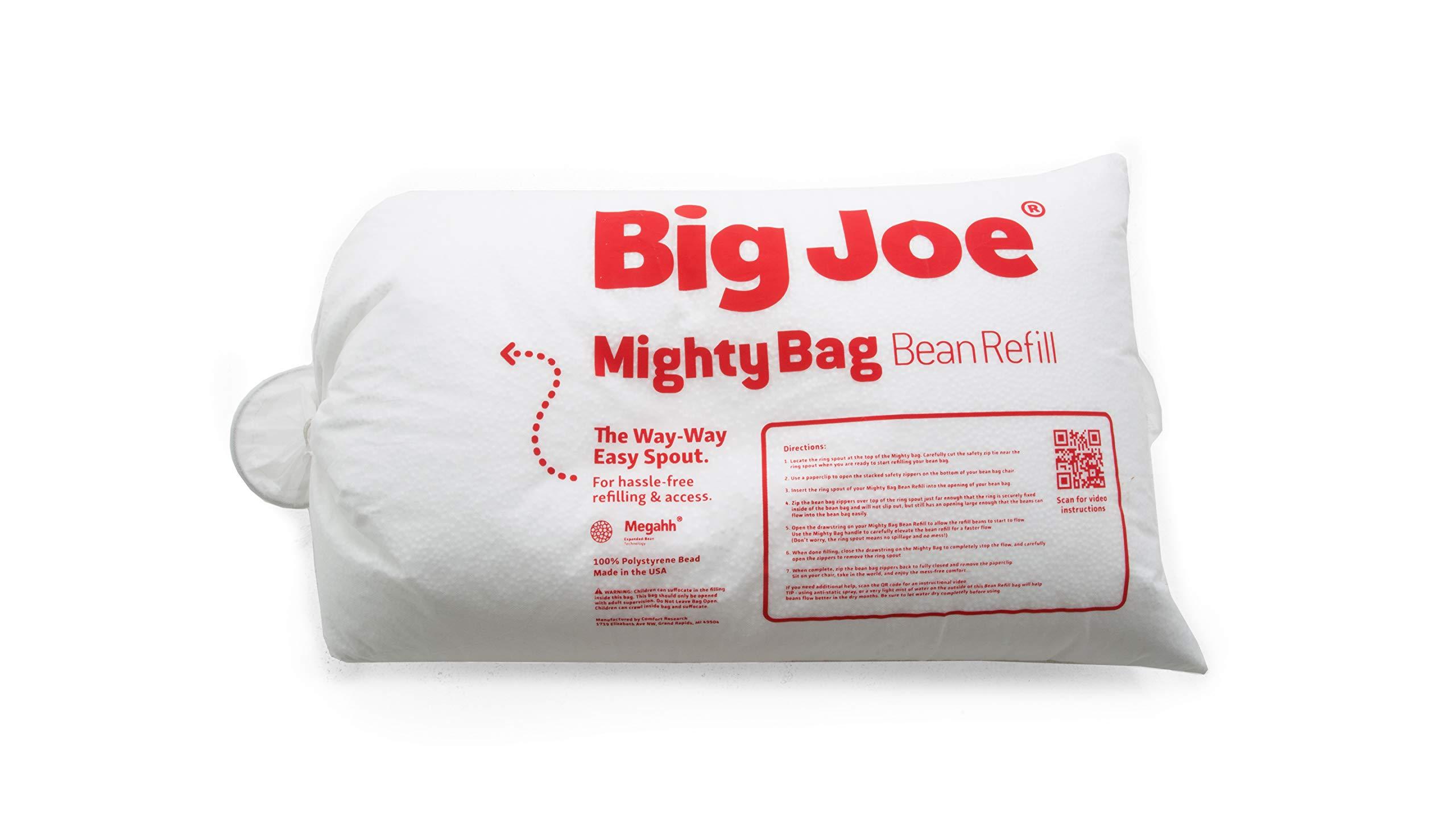 Big Joe 9998999 Bean Refill, 1 Pack, White by Big Joe