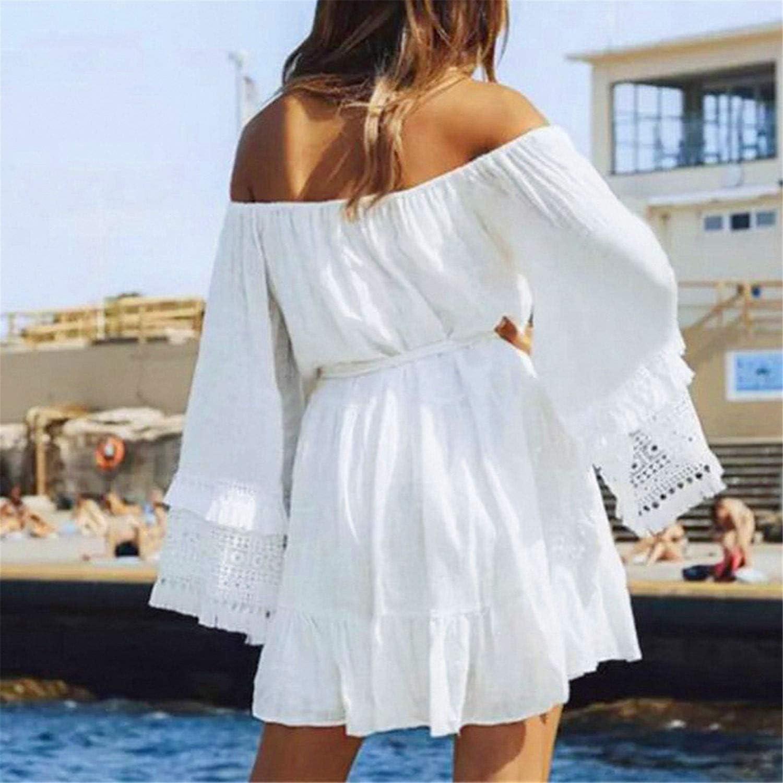 JFLYOU Sleeveless Sweet Striped Jumpsuit Casual Clubwear with Belt Long Maxi Dress Dresses for Women